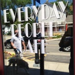Photo taken at Everyday People Cafe by Shane T. on 7/13/2013