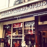Photo taken at Regent Sounds Studio by G O L D E Y on 5/13/2013