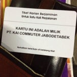 Photo taken at Commuter Line Tanah Abang-Serpong @Jalur 6 by Secondary T. on 2/16/2014