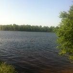 Photo taken at Озеро Сювеярви (Хиттоловское) by Natali I. on 6/5/2013