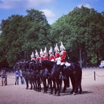 Photo taken at London 2012 Horse Guards Parade by Wee Heng S. on 5/15/2014