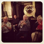 Photo taken at The Wenlock Arms by Matthew O. on 10/16/2012