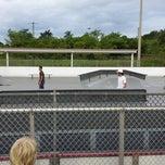 Photo taken at West Boynton Skate Park by Kim B. on 7/16/2013