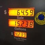 Photo taken at Chevron by Dude on 6/14/2013