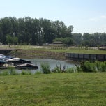 Photo taken at N P Dodge Park Marina by Jared C. on 7/11/2013