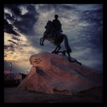 Photo taken at Медный всадник / Bronze Horseman by Ivan K. on 6/24/2013