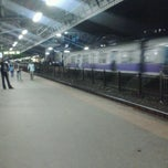 Photo taken at Lower Parel Railway Station by Avijit C. on 6/11/2013