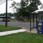 Photo taken at NJT - Bus Stop by Crystal W. on 7/2/2013