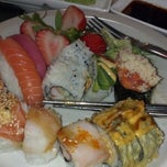 Photo taken at Aji Japanese Restaurant by Levi G. on 6/21/2013