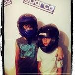 Photo taken at Team Karting Jerusalem by Michael R. on 6/14/2013