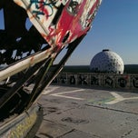 Photo taken at Abhörstation Teufelsberg by Christian W. on 7/21/2013