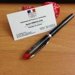 Photo taken at Ambassade de France / Fransa Səfirliyi by Aysel I. on 4/15/2014