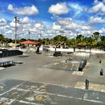 Photo taken at West Boynton Skate Park by Lucas B. on 9/30/2012