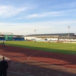 Photo taken at Regional Athletics Arena (mini CoMS) by Mark B. on 5/21/2014