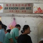 Photo taken at Ah Khoon Loh Mee (亚坤卤面) by ReneRene T. on 8/19/2013