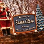 Photo taken at Town of Santa Claus by Timothy T. on 12/28/2014