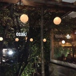Photo taken at Osaki by Erika M. on 5/12/2013