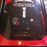 Photo taken at George's Pizza & Gyros by Cyn on 9/23/2013