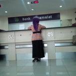 Photo taken at Bank Muamalat by mega e. on 7/24/2014
