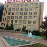 Photo taken at İstanbul Kültür Üniversitesi by Burcu T. on 10/25/2013