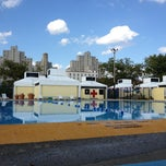 Photo taken at Douglass & Degraw Pool by Mishka S. on 8/10/2013