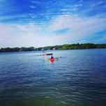 Photo taken at Lake Wequaquet by Greg O. on 8/13/2014