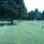 Photo taken at Stones River National Cemetery by Chris W. on 9/15/2013