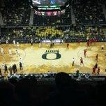 Photo taken at Matthew Knight Arena by Kim on 11/18/2011