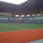 Photo taken at Stadium Hoki Nasional by FaiSal K. on 9/6/2011