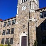 Photo taken at Broughton High School by Erkang Z. on 11/5/2011