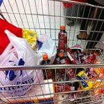 Photo taken at Carrefour by Feny T. on 6/15/2012