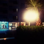 Photo taken at Okeanos Beach Hotel by Ivan P. on 9/29/2013