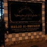 Photo taken at Masjid Al-Mustaqim by Razmi M. on 2/12/2014