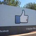 Photo taken at Facebook HQ by Mihai B. on 6/29/2013