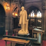 Photo taken at The John Rylands Library by Ian L. on 7/20/2013