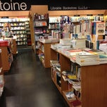 Photo taken at Librairie Antoine by Victoria V. on 10/18/2012