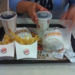 Photo taken at BURGER KING® by Andre A. on 10/9/2012