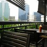 Photo taken at Plaza Semanggi Sky Dining by Rachmat P. on 10/2/2013