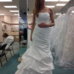 Photo taken at David's Bridal by Agi A. on 11/24/2012