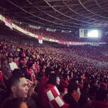 Photo taken at Stadion Utama Gelora Bung Karno (GBK) by Deden I. on 6/7/2013