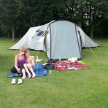 Photo taken at Cambridge Camping and Caravanning Club Site by Rory A. on 8/6/2013