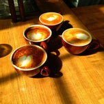 Photo taken at Barefoot Coffee Works by Anil M. on 7/28/2013