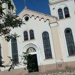 Photo taken at Capela de Santana by Japa on 7/5/2014