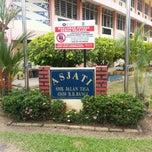 Photo taken at SMK Jalan 3 Bandar Baru Bangi by Aiman S. on 2/13/2014
