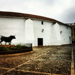 Photo taken at Plaza de Toros de Ronda by Tulio P. on 1/16/2013