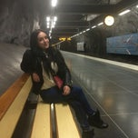 Photo taken at Stadshagen by Олеся Б. on 10/1/2014