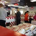 Photo taken at Five Guys by Jason S. on 2/24/2013