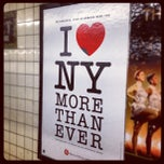 Photo taken at MTA Subway - 3rd Ave (L) by @HungryEditor B. on 12/15/2012