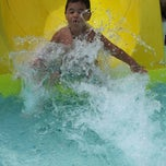 Photo taken at Niles Park District - Oasis Water Park by Jennifer A. on 7/26/2014