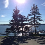 Photo taken at Spruce Point Inn Resort and Spa by Frank R. on 8/10/2013